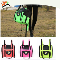 Exquisite Waterproof Foldable Dog Carrier for Travel Rose