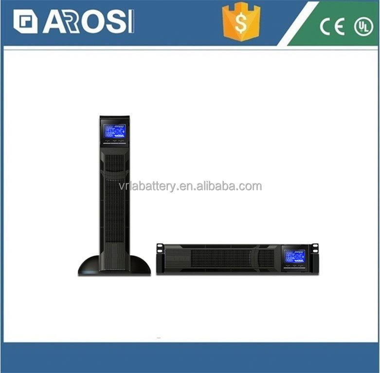 Arosi best price high frequency UPS 3kva three phase ups