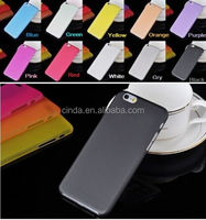 New 0.3mm ultra-thin Super Rubberized Matte Hard Back Plastic Cover Case For iPhone 6