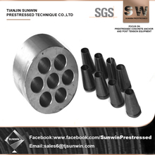 High Quality Hole Wedge Anchor System For Prestressing Concrete