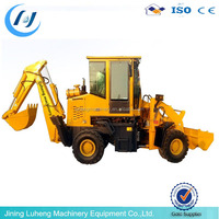 Most economically new backhoe loader for mini skid steer loader mini digger
