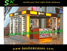 China Customized Phone Acessory Kiosk & Design for Sale Cell Phone Acesssory Display Rack