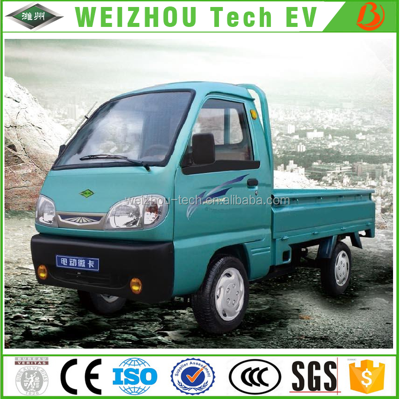 High quality Automobile Electric Pickup Car 800kg 4 wheel Electric Truck