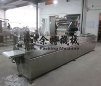 Automatic Continuous Vacuum Packing Machine For Food Medicine