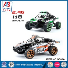 1/18 Hobby 2.4G 4CH 4WD Rock Crawlers 4x4 Double Motors Drive Buggy Model Off-Road Vehicle RC Toys GS03