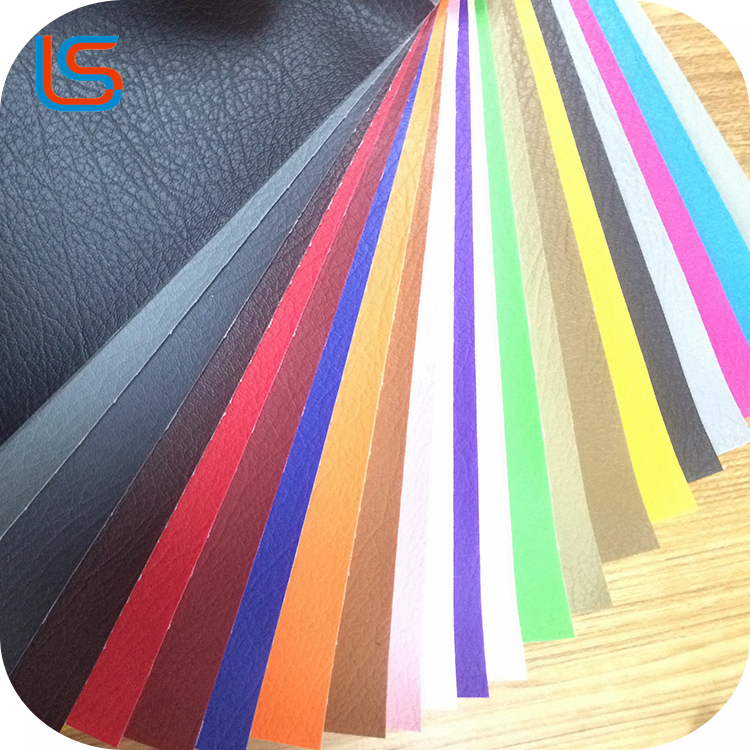 Factory embossed PVC leather for sofa