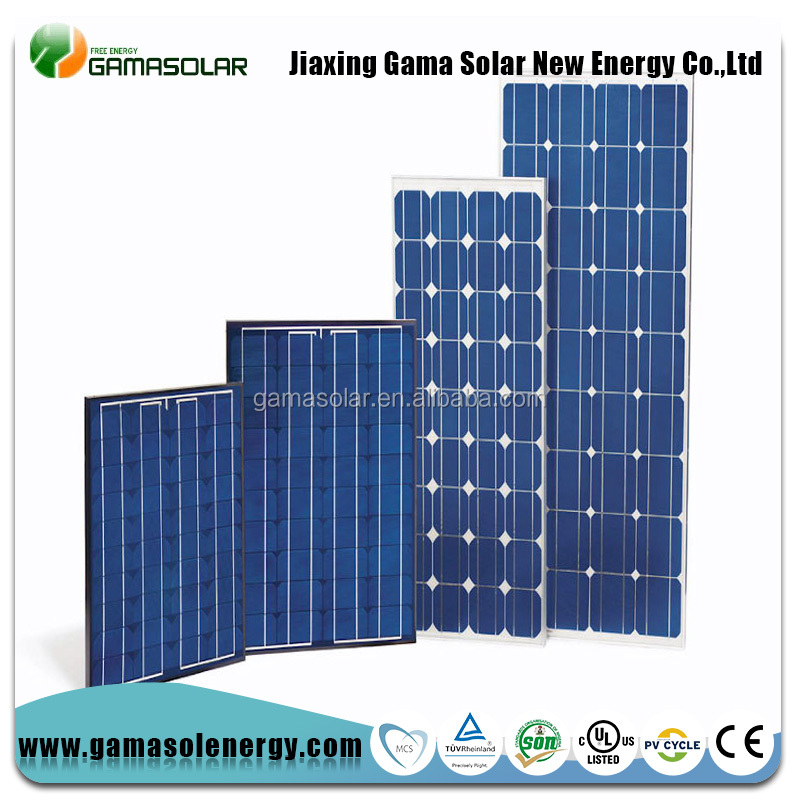 Standard module factory direct supply 120w solar panels for house roof
