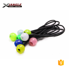 wholesale 5mm 4mm diameter high strength round latex elastic stretch bungee shock cord ball loop for sale