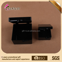 Acrylic beads container Best price black plastic Jewel gift box