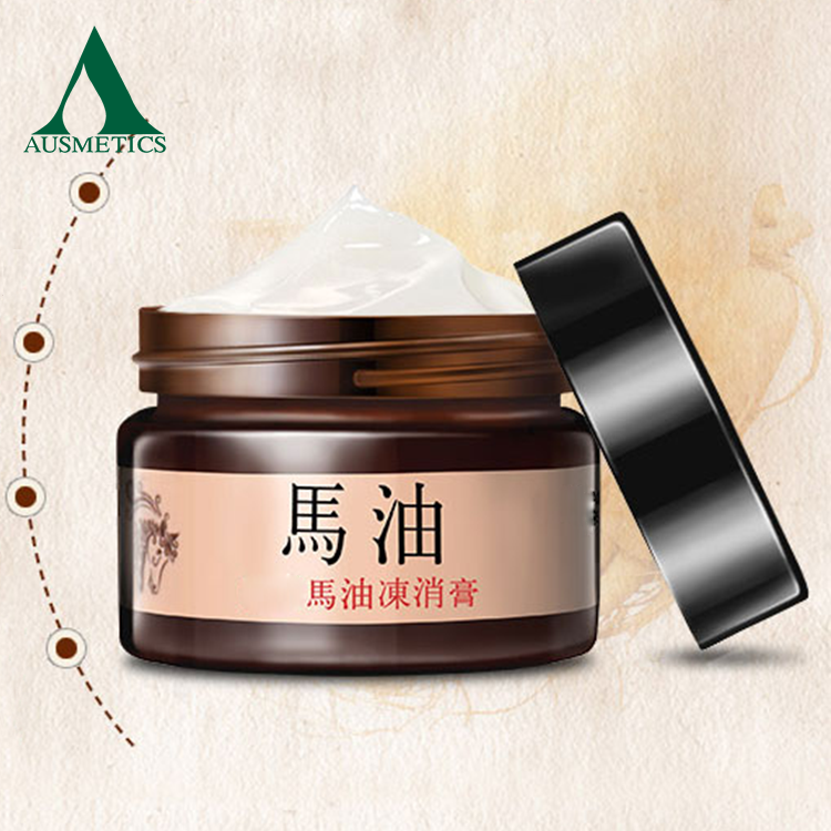 Beauty Hot Sale Skin Lightening Face Moisturizing Whitening Foundation Pure Horse Oil Cream