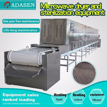 Tunnel type microwave Flaxseed/Chia drying sterilization equipment