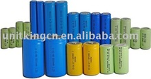 Industrial NI-MH battery AA AAA 2/3AAA 5/4AAA 2/3AA SC C D With Different Capcacity Battery Cells