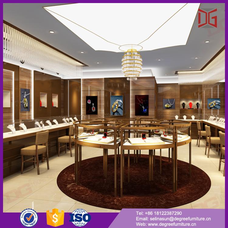 New style fashion jewelry shop interior design for jewelry for New interior design products