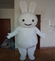 Hola big white rabbit mascot costume/ animation costumes