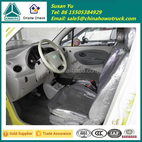 EEC Certificate China 4 Doors Electric Car with Option Colours