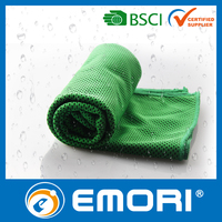 Cheap and funtional custom ployester magic cooling towel