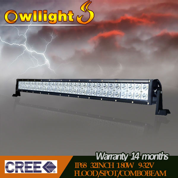 4x4 accessories double row 3w cree off road led light bar,spot flood combo driving trucks light