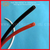 Soft silicon rubber heat shrink sleeve