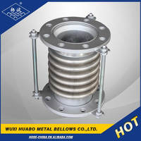 Yangbo stainless steel bridge pipe expansion joints in concrete