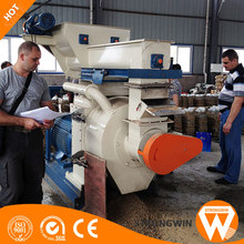 CE approved Henan Strongwin 400-600kg/h wood pellet making machine for wood processing plant