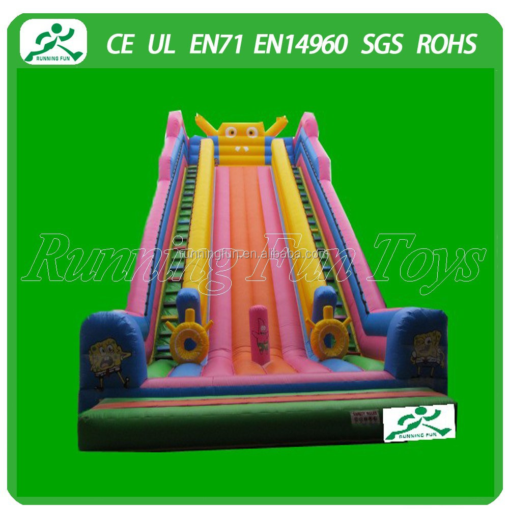 2015 Creative cheap inflatable slide for kids