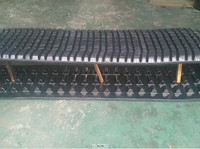 457*101.6*51 ASV Rubber Track, 277C Rubber Track Crawler, ASV Rubber Track with Factory Price