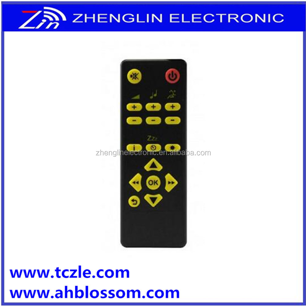 big button universal remote control for TV/DVD/DVB/VOD