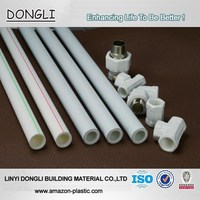Small diameter PPR hot water supply pipe / plastic ppr pipe China supplier
