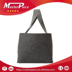 Factory Customized High Quality Cheap Felt Fabric Polypropylene Tote Bag Canvas Tote Folding Shopping Bag