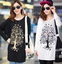 China factory low price plain long sleeve casual cotton tops for ladies fashion women blouse