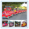 48V 3KW motor power used trackless train for sale ,amusement electric train trackless