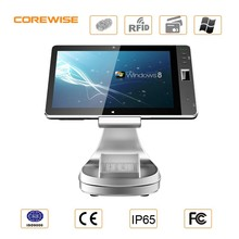 All in one touch screen 15 inch pos system for bank