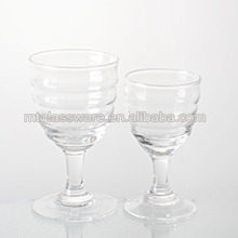 350ml for red wine crystal cup // Wine glass factory china handmade all clear cut crystal wine glass