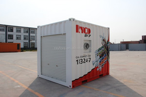 moving equipment container for generator
