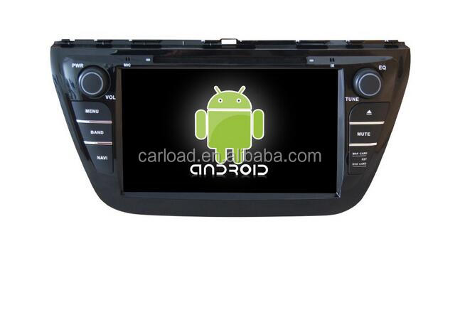 Android 6.0 car with 2 din touch screen car dvd for Suzuki Crossover/SX4 2013