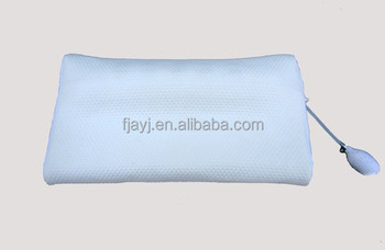 Negative ion foam memory pillow inflatable pillow