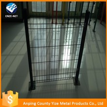 surface treatment Galvanized+pvc coated 1x1 wire mesh fence