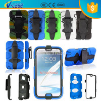 High Quality WaterProof ShockProof Armor Military Duty Case W/ Belt Clip For Samsung Galaxy Note 2 II N7100