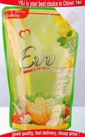 1.1L Eco Friendly Liquid Pouch Packaging Spouted Pouches