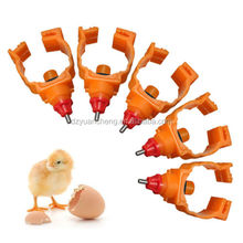 fully automatic poultry chicken rabbit nipple drinker high quality chicken water drinker feeder breeding nipple