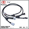 Automotive wiring harness cable assembly with 6 pin Deutsch connector and denso connector