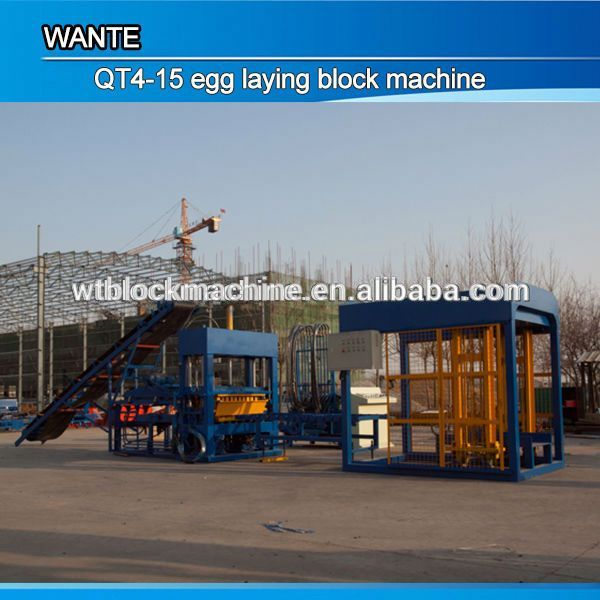 vibrating table concrete for paver QT4-15