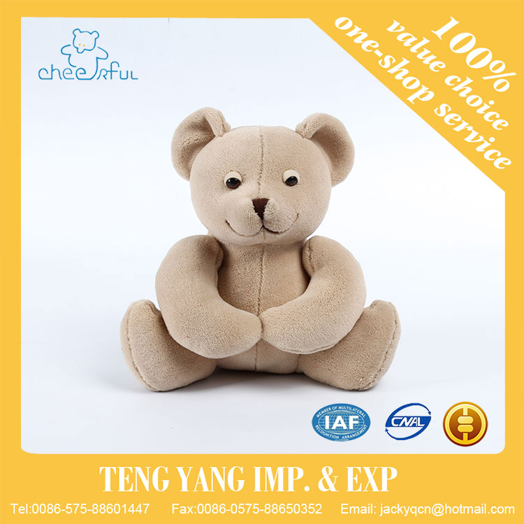 China supplier Soft touch lovely design high quality stuffed plush bear toys