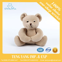 Super Soft touch lovely bear design high quality stuffed plush bear toys