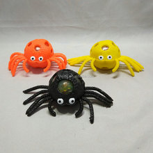 hot selling squishy ball,flashing/ gel bead/blood spider,halloween toys