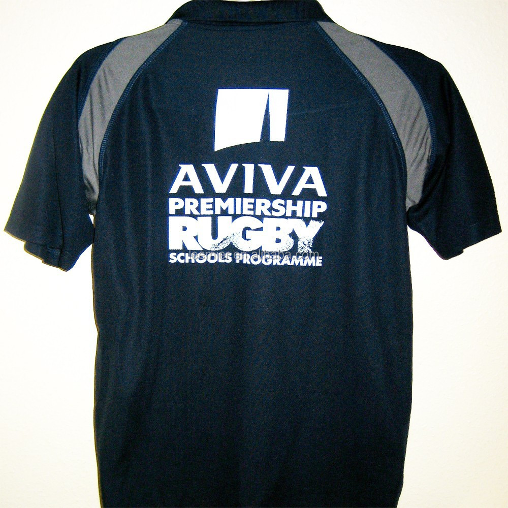 Wholesale fashion china black rugby jersey