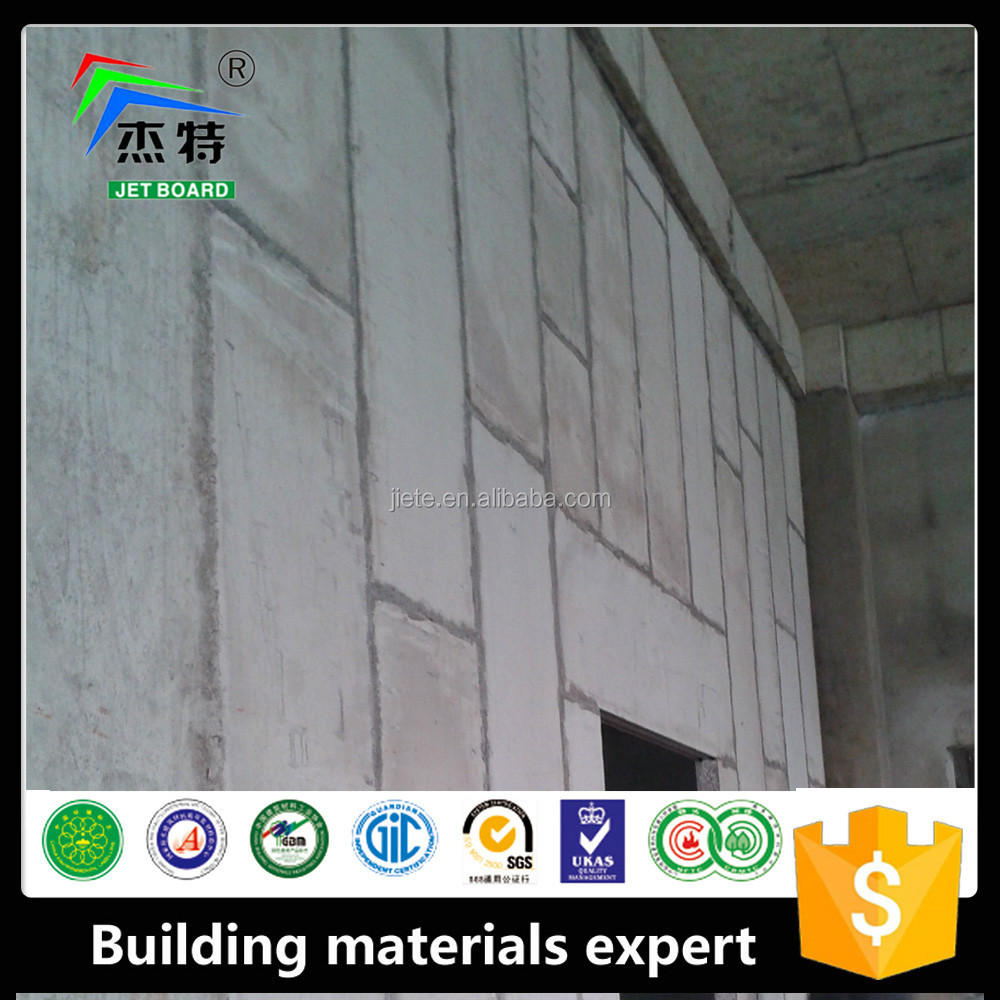 2016 non asbestos celluloseCE AND ISO Approved 100% Asbestos Free Fiber Cement Board