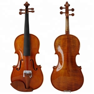 Wholesale Gloss Orange Brown Professional Tone wood Advanced Master Violins