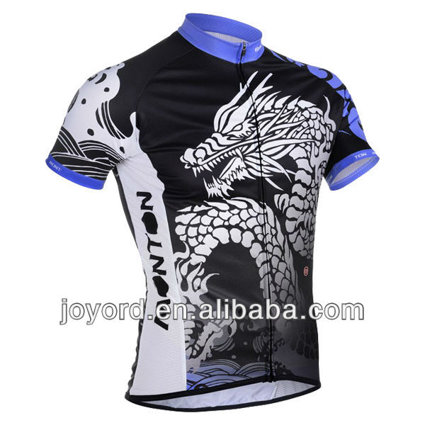 Fashion MTB men's cycling clothing for team events 2013