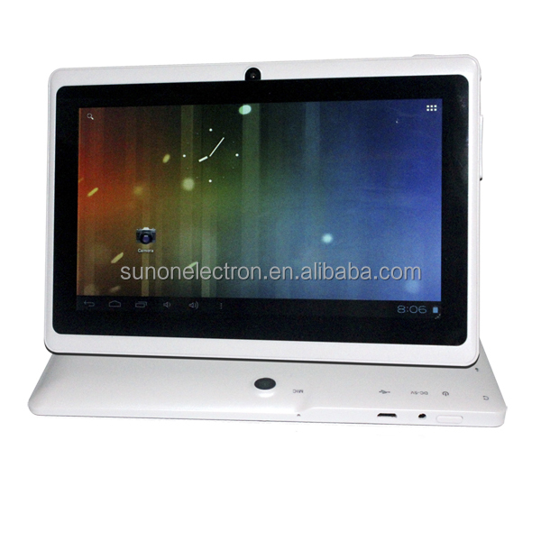 2015 Best sales 7 inch HD screen android4.4/android5.1 A33 Quad core q88 cheap tablet pc